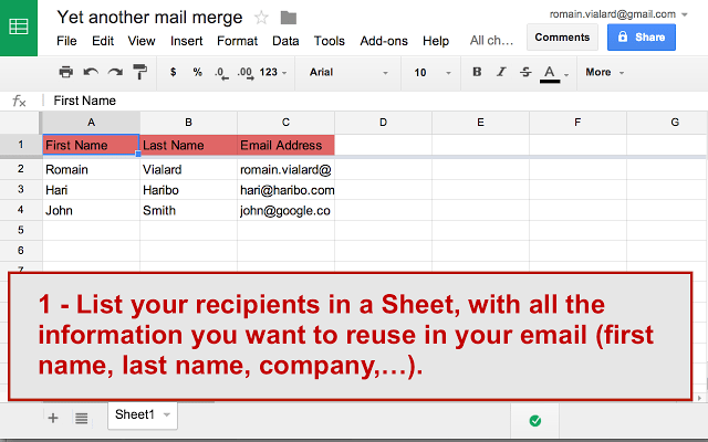 how to make another email on google busines