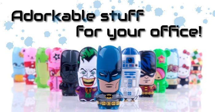 These Collectibles Will Make You the Geekiest Person in Your Office