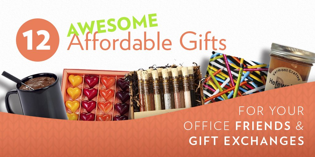 12 Affordable (Yet Awesome) Gifts for Your Office Friends & Gift Exchanges